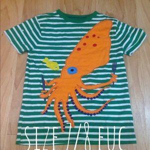 Mini boden size7/8 squid top